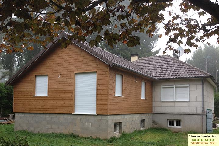 Extension de maison en kit latest extension de maison en for Extension de maison en kit