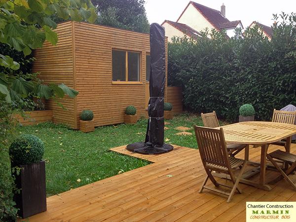 Kits construction bois autoconstruction maison bois kits autoconstruction - Construction studio dans jardin ...