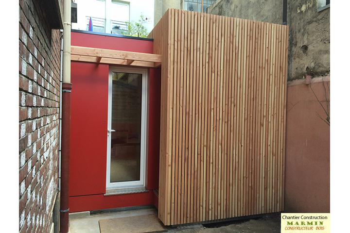 constructeur maisons bois studio de jardin chalets de jardin ossature bois dans le val de. Black Bedroom Furniture Sets. Home Design Ideas